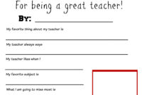 Pinchristine Patterson Mullery On School Days | Teacher within Thank You Card For Teacher Template