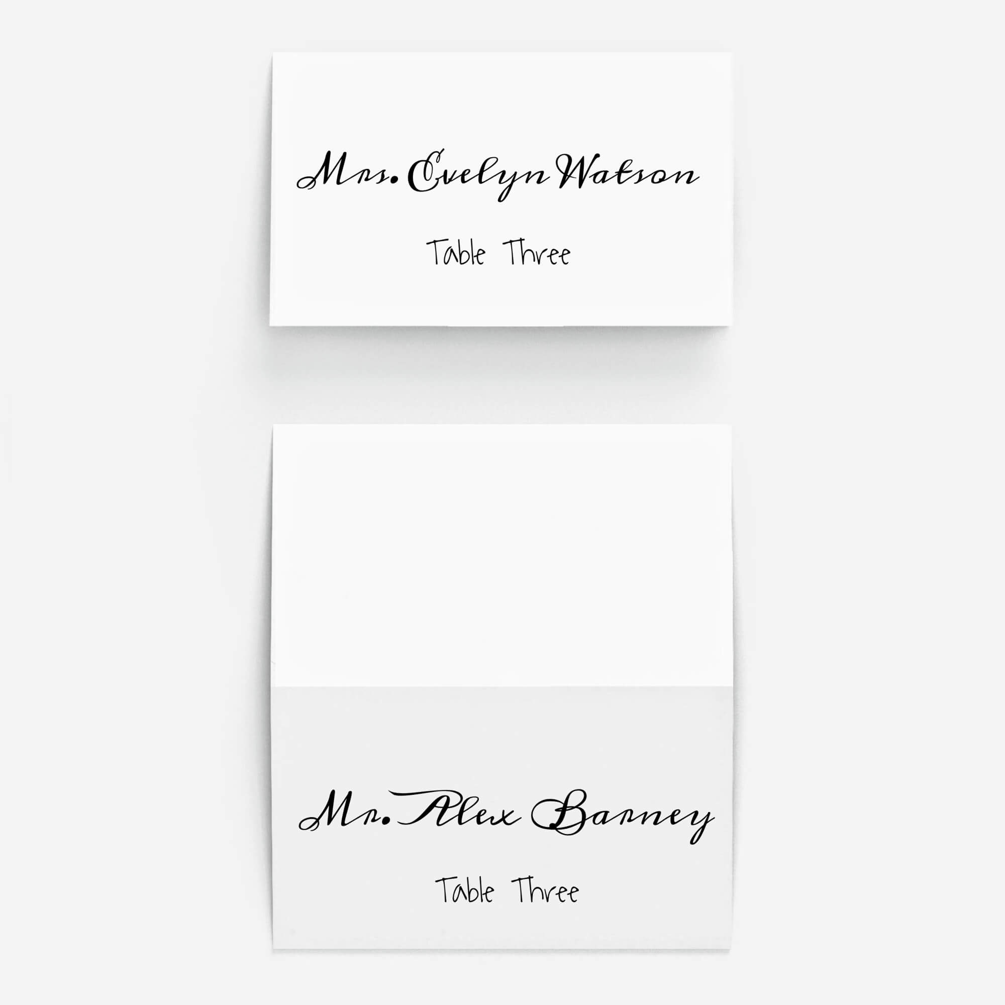 Pinplace Cards Online On 10 Stunning Fonts For Diy For Celebrate It Templates Place Cards