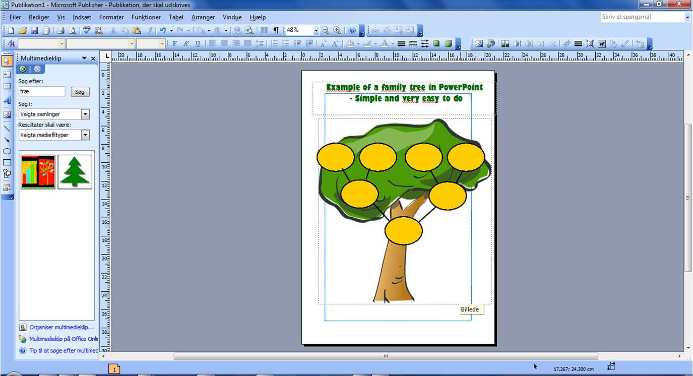 Powerpoint Example Of Family Tree – Family Tree Template Within Powerpoint Genealogy Template