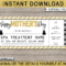 Printable Mother's Day Spa Voucher Template | Spa Gift with Spa Day Gift Certificate Template