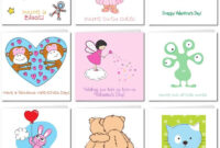 Printable Valentine Cards For Kids within Valentine Card Template For Kids