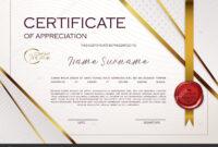 Qualification Certificate Appreciation Design Elegant Luxury pertaining to Qualification Certificate Template