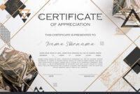 Qualification Certificate Of Appreciation Design. Elegant within Qualification Certificate Template