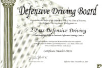 Safe Driving Certificate Template ] - Some Appreciation for Safe Driving Certificate Template
