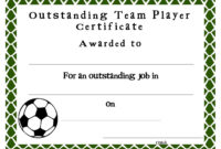 Soccer Certificate Templates Blank   K5 Worksheets with Hockey Certificate Templates