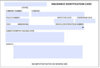 Storesmart® - Black- Auto Insurance & Id Card Holders in Fake Car Insurance Card Template