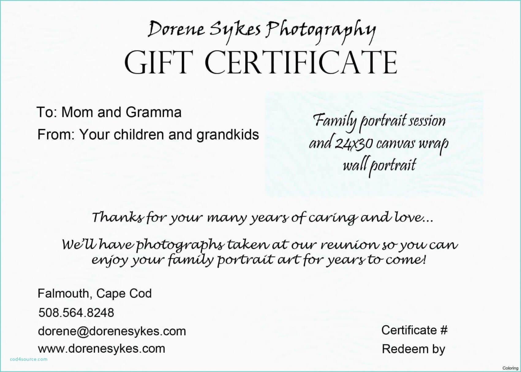 Tattoo Gift Certificate Template With Regard To Tattoo Gift Certificate Template
