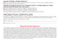 Upgrade To Ipedge Promotion Certificate | Templates At inside Promotion Certificate Template
