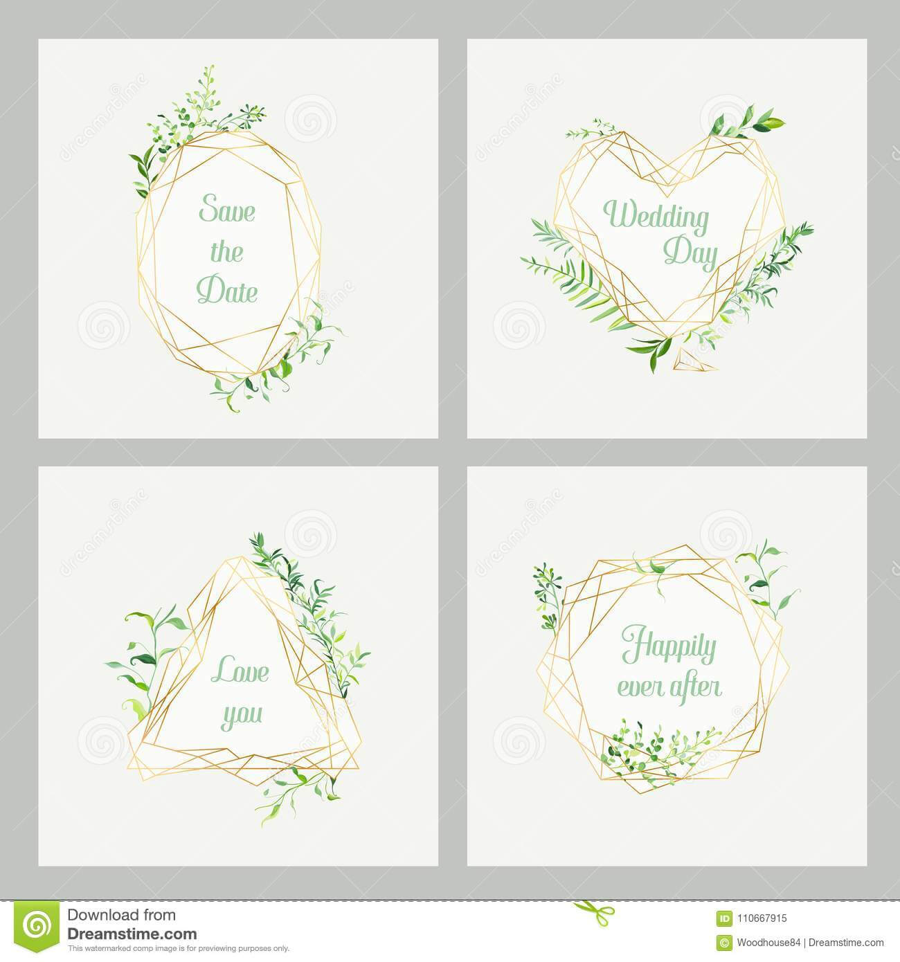 Wedding Invitation Floral Templates Set. Save The Date With Regard To Celebrate It Templates Place Cards
