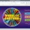 Wheel Of Fortune For Powerpoint - Gamestim intended for Wheel Of Fortune Powerpoint Game Show Templates