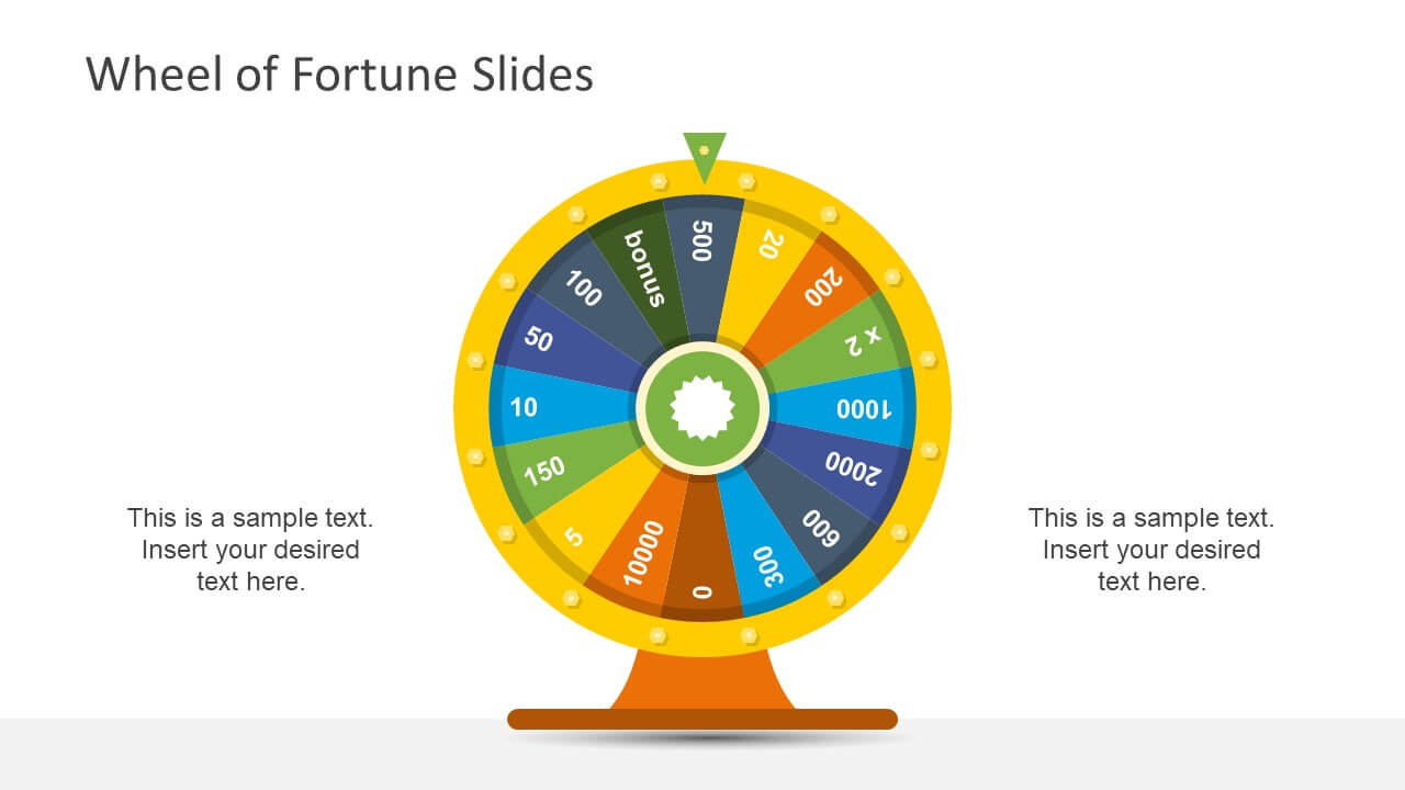 Wheel Of Fortune Powerpoint Template Intended For Wheel Of Fortune Powerpoint Template