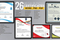 Word Certificate Template – 53+ Free Download Samples inside Elegant Certificate Templates Free